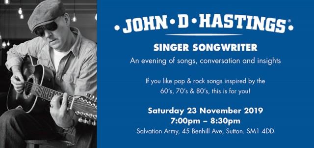 #JohnDHastings#Singer #Songwriter #Inspiration behind my songs